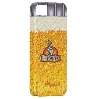 Caso del iPhone 5 de la botella de cerveza