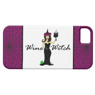 Caso del iPhone 5 de la bruja del vino iPhone 5 Funda