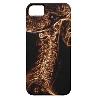 Caso del iPhone 5 de la C-espina dorsal de iPhone 5 Funda