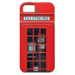Caso del iPhone 5 de la cabina de teléfono de Lond iPhone 5 Case-Mate Carcasa