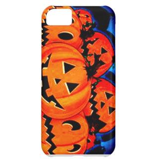 Caso del iPhone 5 de la calabaza de Halloween