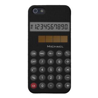 Caso del iPhone 5 de la calculadora del vintage iPhone 5 Fundas