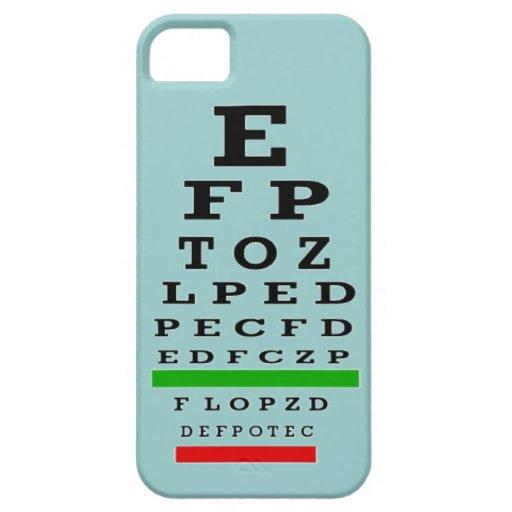 Caso del iPhone 5 de la carta de ojo iPhone 5 Case-Mate Protectores