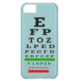Caso del iPhone 5 de la carta de ojo Funda Para iPhone 5C
