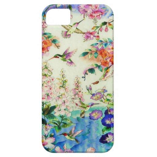 Caso del iPhone 5 de la casamata de los colibríes  iPhone 5 Cárcasa