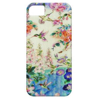 Caso del iPhone 5 de la casamata de los colibríes iPhone 5 Fundas