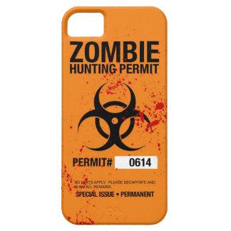Caso del iPhone 5 de la caza del zombi iPhone 5 Fundas