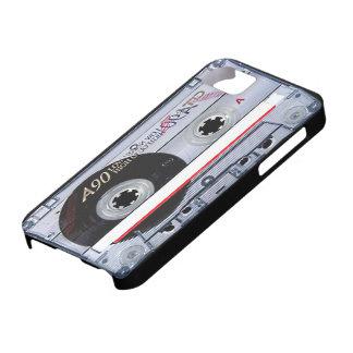 Caso del iPhone 5 de la cinta de casete audio iPhone 5 Case-Mate Cobertura
