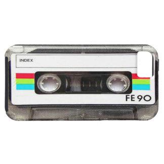 Caso del iPhone 5 de la cinta de casete iPhone 5 Case-Mate Fundas