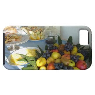 Caso del iPhone 5 de la comida fría del desayuno iPhone 5 Protectores