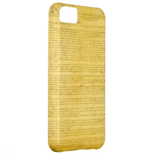 Caso del iPhone 5 de la constitución