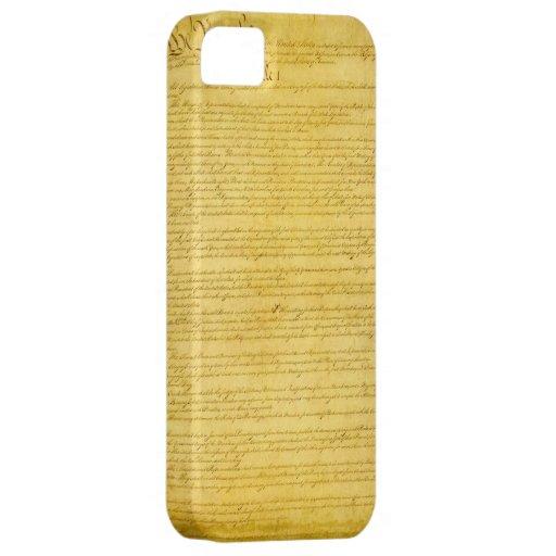 Caso del iPhone 5 de la constitución iPhone 5 Carcasa