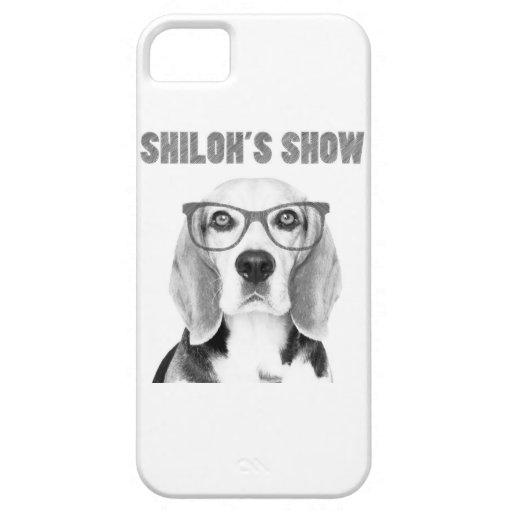 Caso del iPhone 5 de la demostración de Shiloh iPhone 5 Case-Mate Fundas