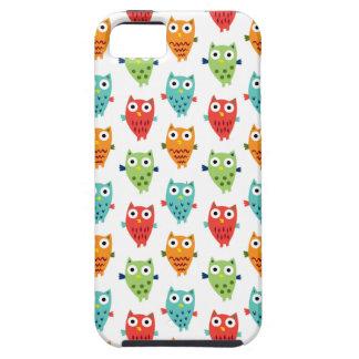 Caso del iphone 5 de la diversión del búho iPhone 5 cárcasas