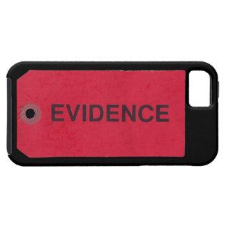 Caso del iPhone 5 de la etiqueta de las pruebas iPhone 5 Case-Mate Carcasa