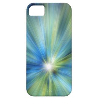Caso del iPhone 5 de la EXPLOSIÓN del verde azul iPhone 5 Case-Mate Carcasa
