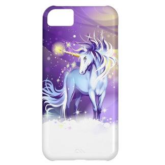 Caso del iPhone 5 de la fantasía del unicornio Funda Para iPhone 5C