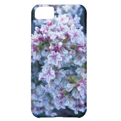 Caso del iPhone 5 de la flor