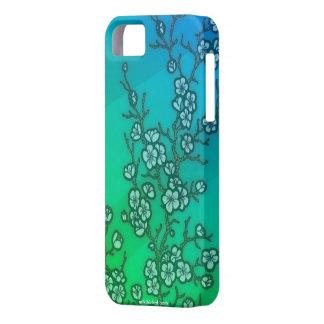 Caso del iPhone 5 de la flor de cerezo iPhone 5 Funda