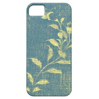Caso del iPhone 5 de la flor del dril de algodón iPhone 5 Coberturas