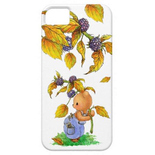 Caso del iPhone 5 de la fruta del otoño iPhone 5 Carcasas