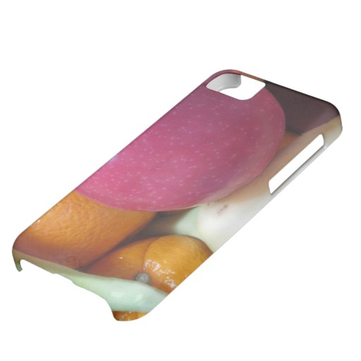 Caso del iphone 5 de la fruta