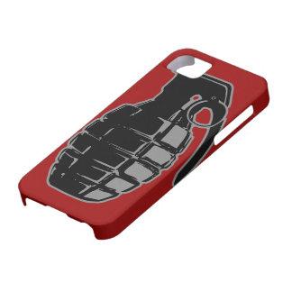 Caso del iPhone 5 de la granada de mano iPhone 5 Carcasa