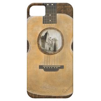 Caso del iPhone 5 de la guitarra acústica iPhone 5 Funda