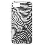 Caso del iPhone 5 de la huella dactilar