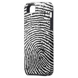 Caso del iPhone 5 de la huella dactilar iPhone 5 Funda