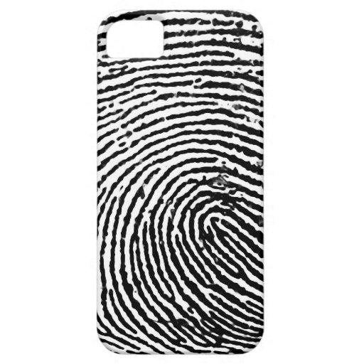 Caso del iPhone 5 de la huella dactilar iPhone 5 Case-Mate Fundas