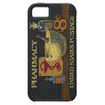 Caso del iPhone 5 de la imagen del sello conmemora iPhone 5 Cobertura