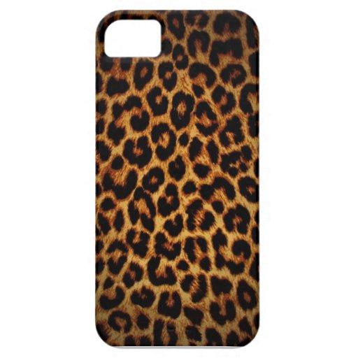 Caso del iPhone 5 de la impresión del guepardo Funda Para iPhone SE/5/5s