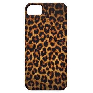Caso del iPhone 5 de la impresión del guepardo iPhone 5 Carcasas