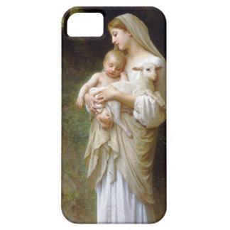 Caso del iPhone 5 de la inocencia de Bouguereau Funda Para iPhone SE/5/5s