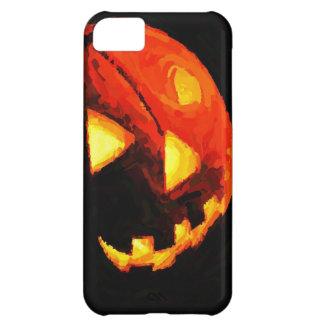 Caso del iPhone 5 de la linterna de Halloween Jack
