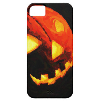 Caso del iPhone 5 de la linterna de Halloween Jack iPhone 5 Protector