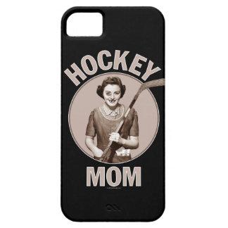 Caso del iPhone 5 de la mamá del hockey Funda Para iPhone SE/5/5s
