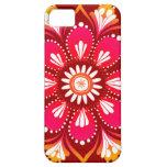 Caso del iPhone 5 de la mandala de la flor por la  iPhone 5 Coberturas