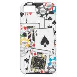 Caso del iphone 5 de la mano de póker iPhone 5 Case-Mate coberturas