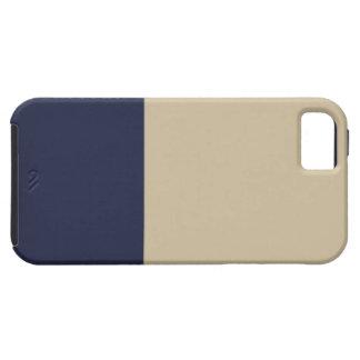Caso del iPhone 5 de la marina de guerra y del oro iPhone 5 Case-Mate Protector