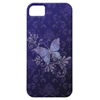 Caso del iPhone 5 de la mariposa de la joya iPhone 5 Protector