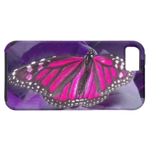 Caso del iPhone 5 de la mariposa de monarca de las iPhone 5 Case-Mate Fundas