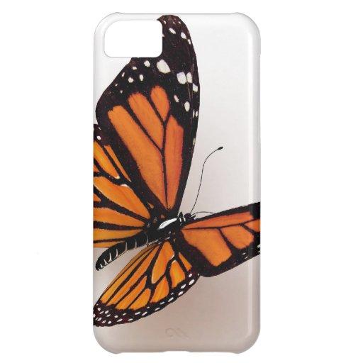 Caso del iPhone 5 de la mariposa de monarca