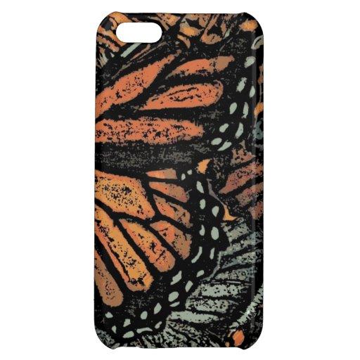 ¡Caso del iphone 5 de la mariposa de monarca!