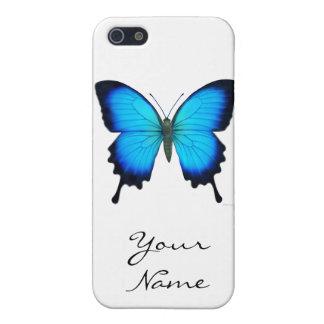 Caso del iPhone 5 de la mariposa de Papilio Ulises iPhone 5 Carcasas