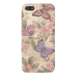 Caso del iPhone 5 de la mariposa iPhone 5 Funda