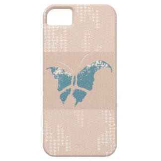 Caso del iPhone 5 de la mariposa y del cordón iPhone 5 Case-Mate Funda