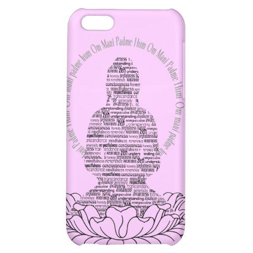 Caso del iPhone 5 de la mente de Buda