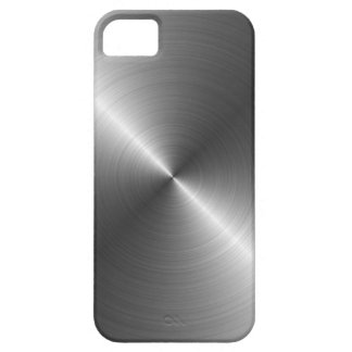 Caso del iPhone 5 de la mirada del metal del acero iPhone 5 Case-Mate Fundas
